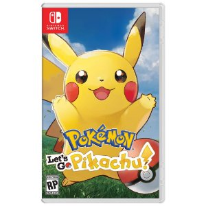 Switch Pokemon: Lets Go Pikachu