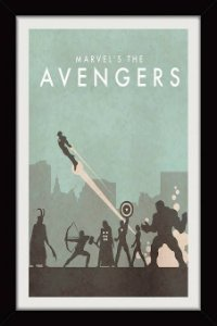 Quadro Marvel The Avengers