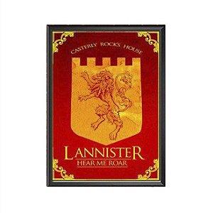 Quadro Lannister Hear Me Roar