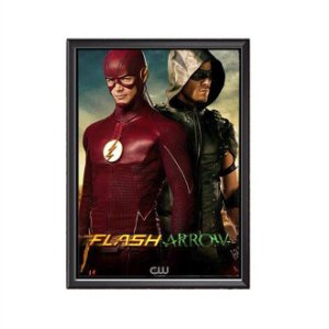 Quadro Flash e Arrow