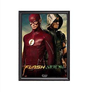 Quadro Flash e Arrow