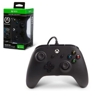 Xbox One Controle Com Fio Preto Power A