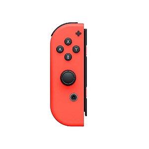 Switch Controle Joy-Con Esquerdo L Neon