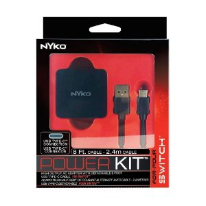 Switch Power Kit USB Tipo C 2,4 Metros Nyko