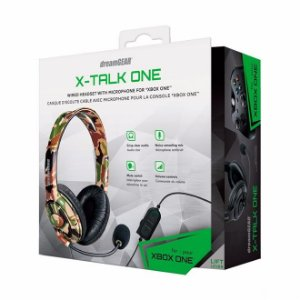 Headset DreamGear X-talk One Camuflado [XBOX ONE, PS4, SWITCH]