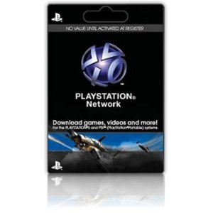 Cartão PSN PlayStation Network de U$ 50