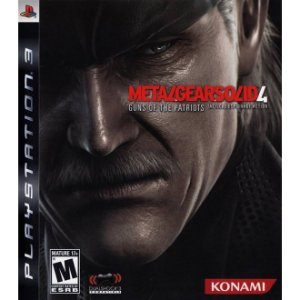 PS3 Metal Gear Solid 4 : Guns of Patriots