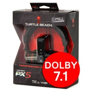 PS3 Headset Turtle Beach Ear Force PX 5 [Wireless Para Xbox 360 e Playstation 3]