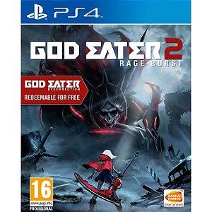 PS4 God Eater 2 Rage Burst