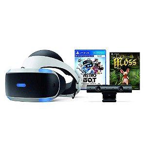 Playstation VR Bundle + Astro Bot + Moss + Camera