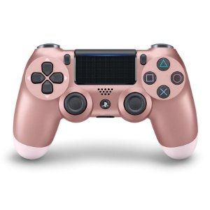 PS4 Controle Dual Shock 4 Ouro Rose