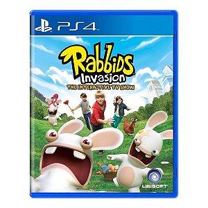PS4 Rabbids Invasion - O Show Interativo da TV [USADO]