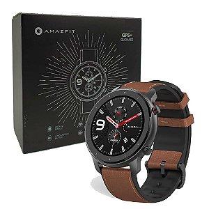 Relógio Smartwatch Xiaomi Amazfit GTR Preto Aluminium Alloy (47mm)