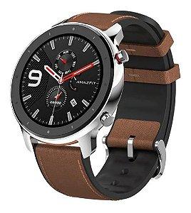 Relógio Smartwatch Xiaomi Amazfit GTR Prata Stainless Steel (47mm)
