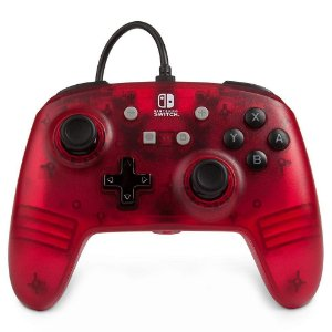 Switch Controle Com Fio Red Frost Power A