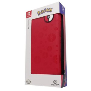 Switch Case Pokeball Vermelha