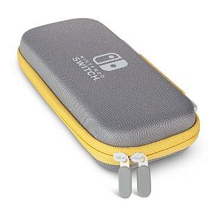 Switch Lite Case Cinza e Amarela PowerA