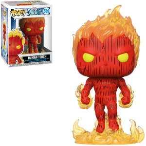 Funko Pop Marvel Fantastic Four 4 Human Torch 559