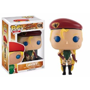 Funko Pop Cammy Street Fighter 139