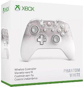 Xbox One Controle Sem Fio Modelo S Bluetooth Phantom White