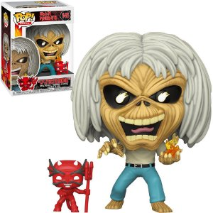 Funko Pop Iron Maiden The Number Of The Beast Eddie 145