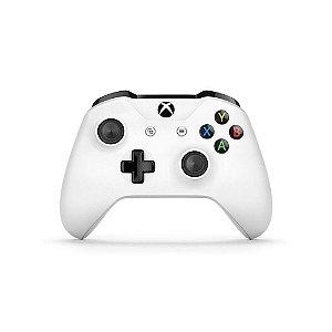 Xbox One Controle OEM Sem Fio Modelo S Bluetooth Branco Seminovo
