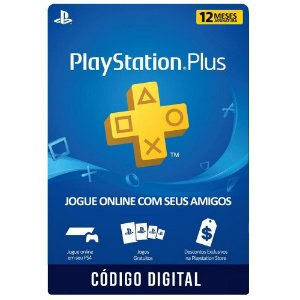 Playstation PSN Plus 12 meses
