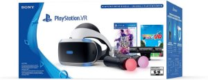 Playstation VR Bundle com Câmera e Move + Blood & Truth + Everybodys Golf Bundle Zvr2