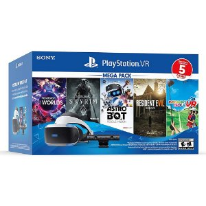 Playstation VR Bundle Five Game Pack ZVR2