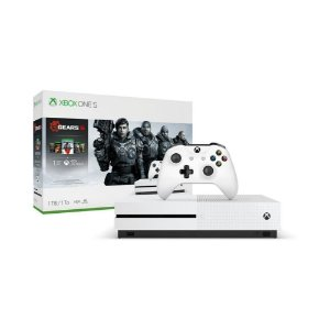 Xbox One S 1TB + Gears 5 + 1 Mês Live Gold