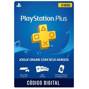 Playstation PSN Plus 3 meses