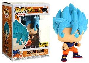 Funko Pop Dragon Ball SSGSS Goku Special Edition 668