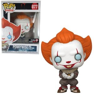Funko Pop Pennywise with Glow Bug 877