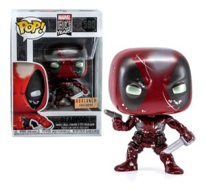 Funko Pop Marvel:80 Years - Deadpool Special Edition 590