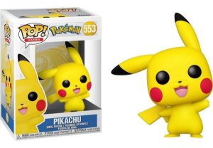 Funko Pop Pokémon Pikachu Waving 553