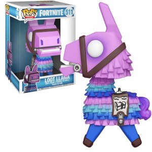 "Funko Pop Marvel Fortnite 3 Loot Llama 10"" Super Sized 511"