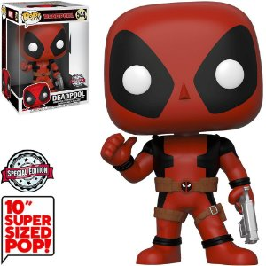 "Funko Pop Marvel DeadPool 10"" Super Sized 544"