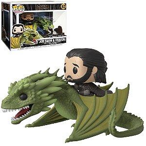 Funko Pop Rides Game of Thrones Jon Snow & Rhaegal 67