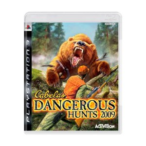 PS3 Cabela's Dangerous Hunts 2009 [USADO]