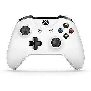 Xbox One Controle Sem Fio S Bluetooth Branco