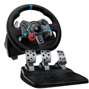 Volante Logitech Driving Force G29 [PS4, PS3 e PC]