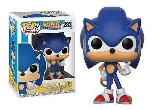 Funko Pop Sonic c/ Ring 283