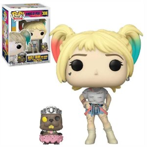Funko Pop Birds of Prey Harley Quinn w/ Beaver 308