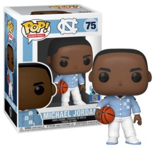 Funko Pop NBA UNC Michael Jordan Warm Ups 75
