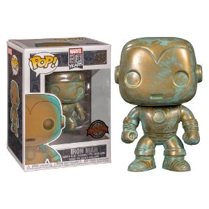 Funko Pop Marvel 80th Iron Man Patina 498