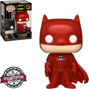 Funko Pop Heroes Batman 80th Batman Metallic Red 144
