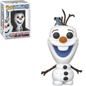 Funko Pop Disney Frozen II Olaf w/ Bruni 733