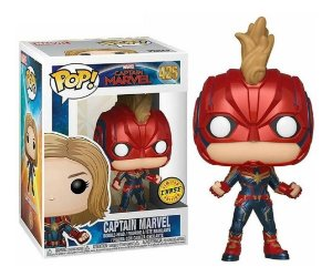 Funko Pop! Marvel: Captain Marvel - Captain Marvel Chase 425