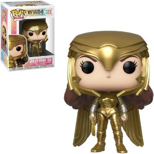 Funko Pop DC Comics: Wonder Woman 1984 - Wonder Woman Golden Armor 323
