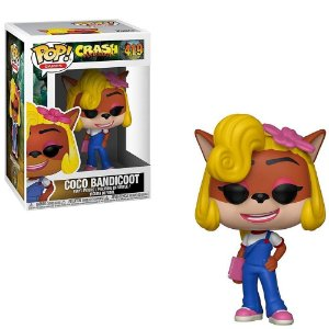 FUNKO POP CRASH BANDICOOT 2 COCO BANDICOOT 419